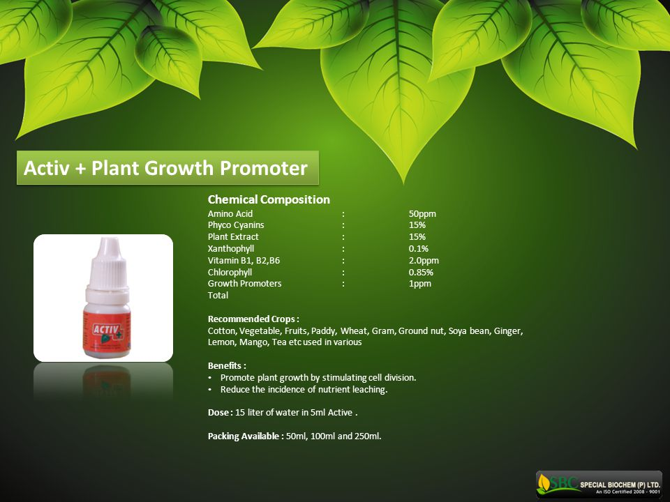 Activ + Plant Growth Promoter