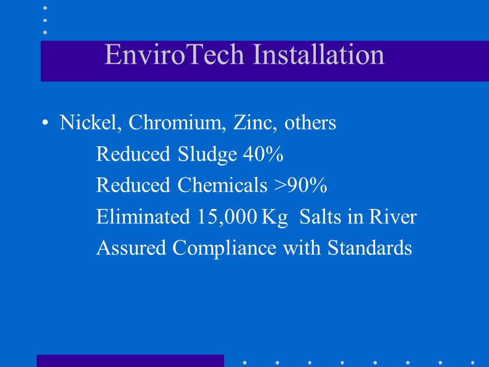 EnviroTech Installation