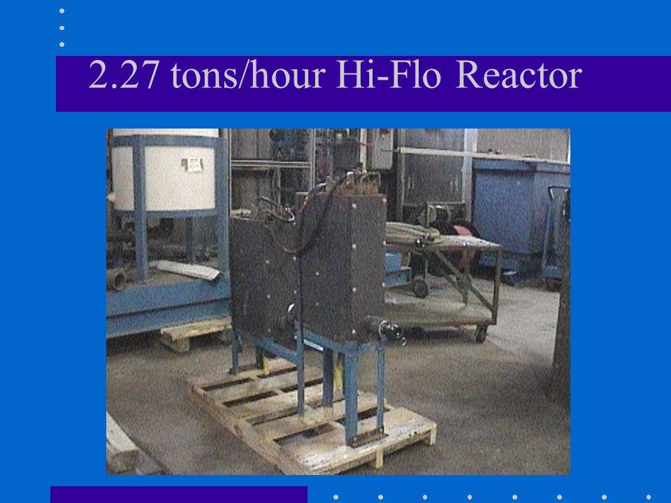 2.27 tons/hour Hi-Flo Reactor