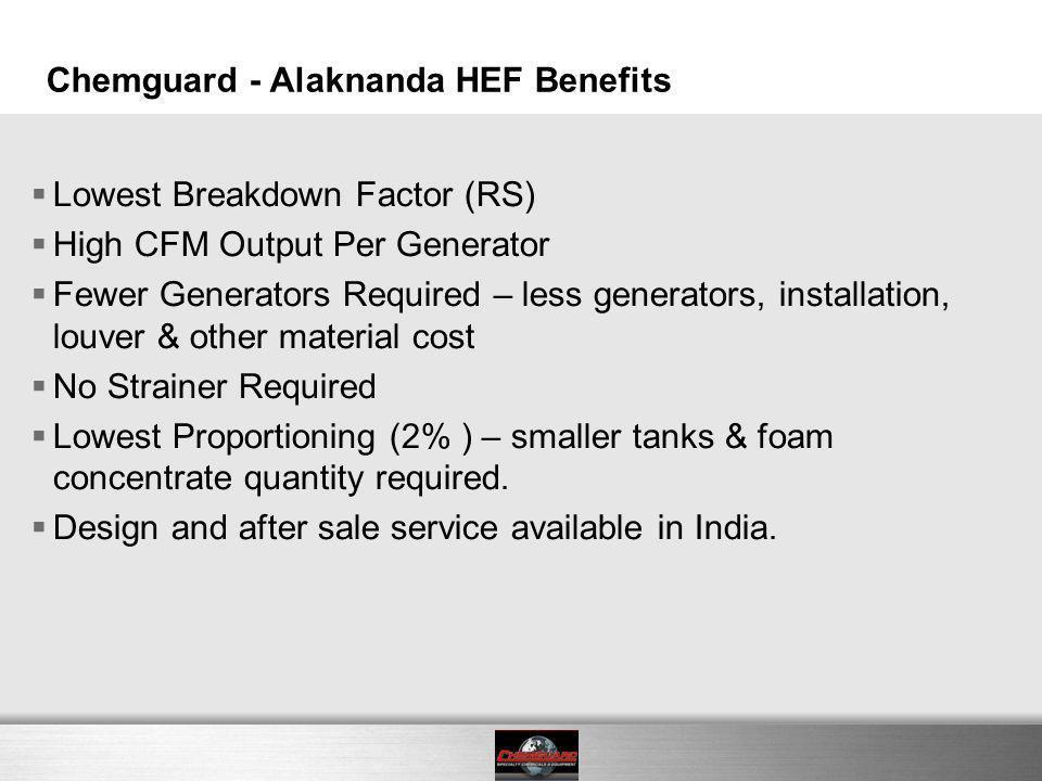 Chemguard - Alaknanda HEF Benefits