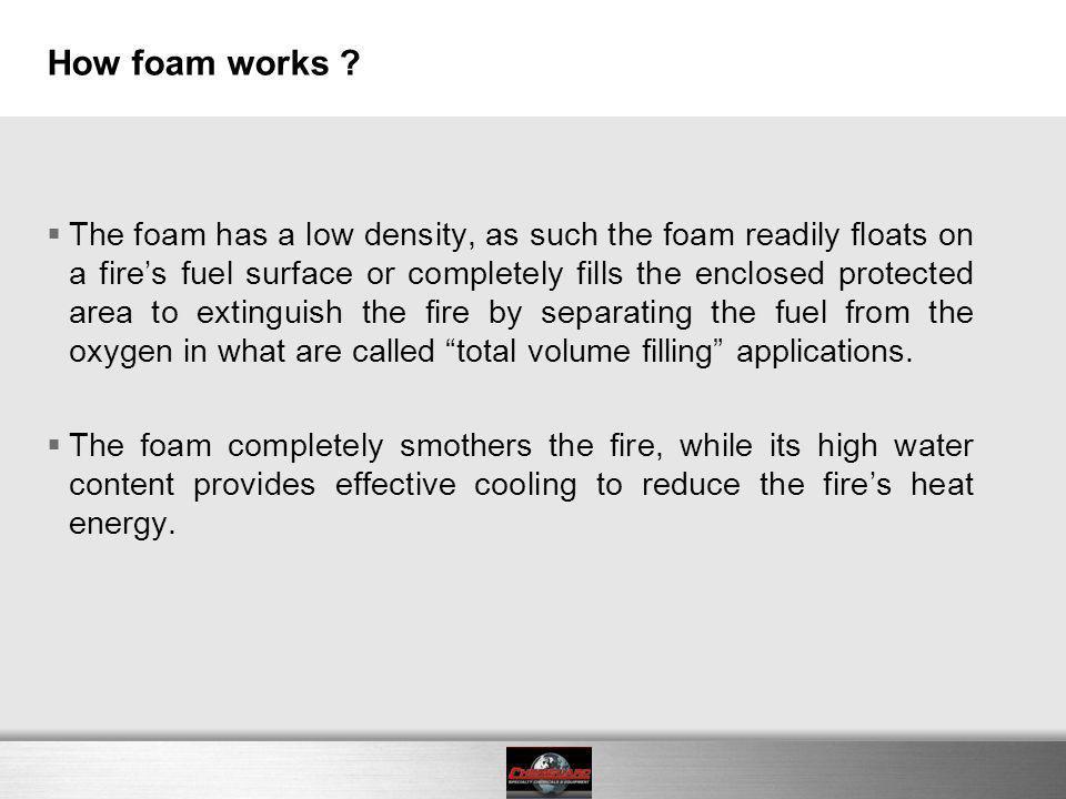 How foam works