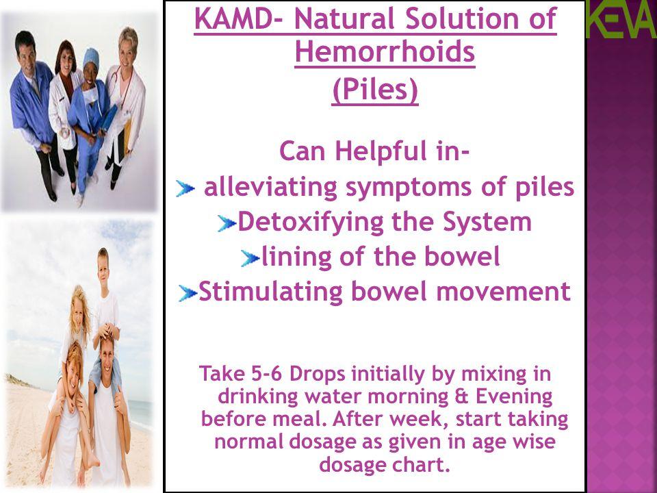 KAMD- Natural Solution of Hemorrhoids (Piles)