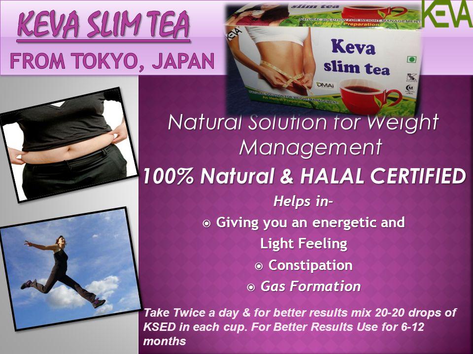 Keva SLIM TEA From Tokyo, Japan