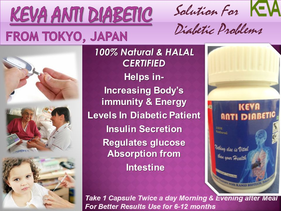 Keva anti Diabetic From Tokyo, Japan