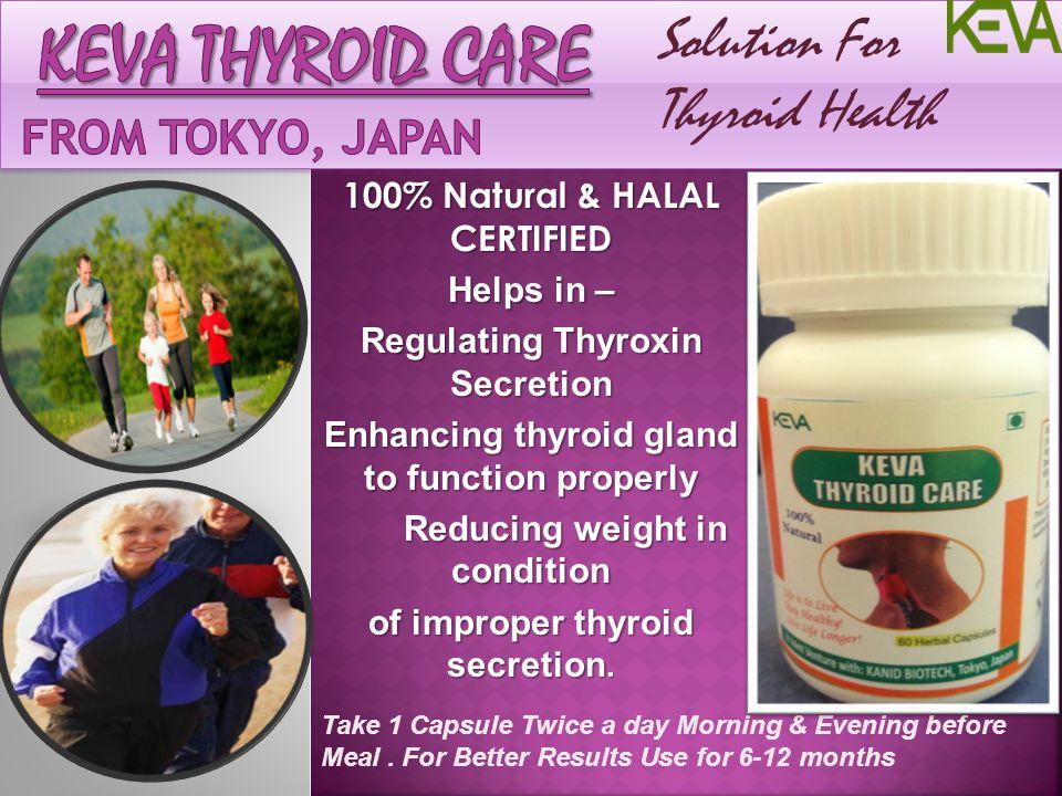 Keva Thyroid care From Tokyo, Japan