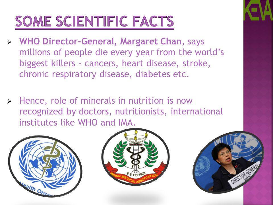 Some Scientific Facts