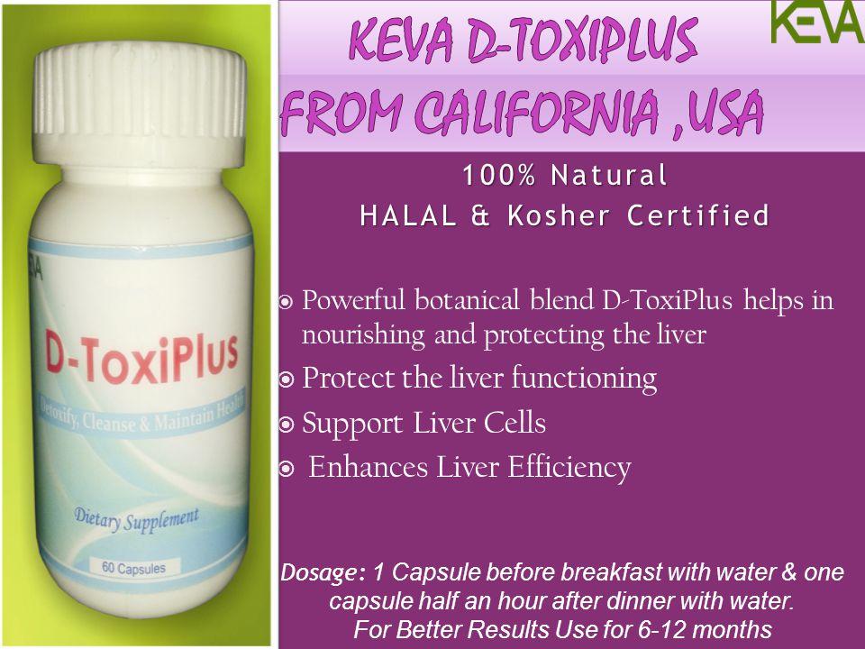 KEVA d-tOXIpLUS From California ,usa