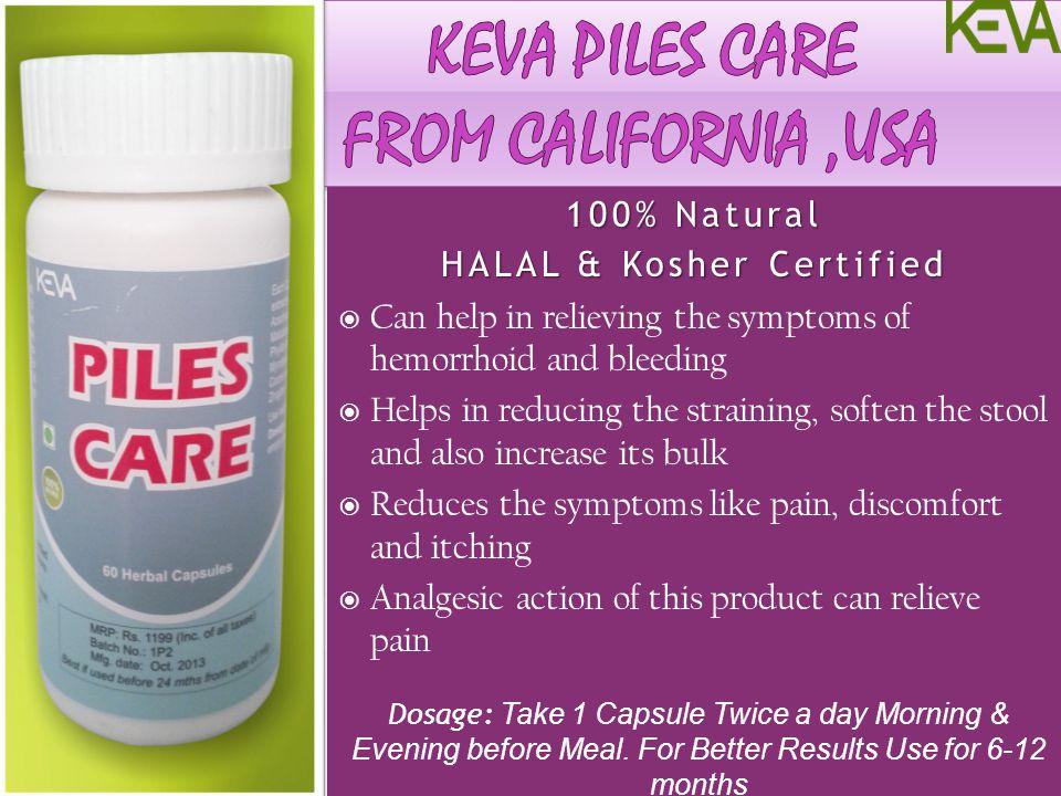 KEVA PILES CARE From California ,usa