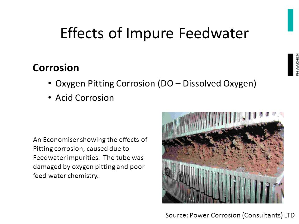 Effects of Impure Feedwater