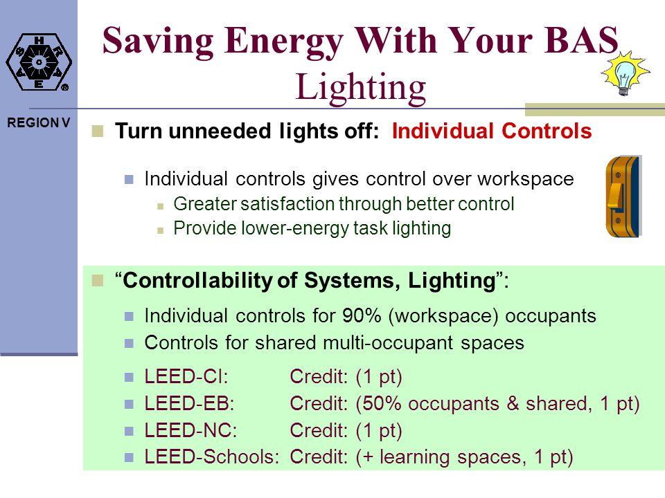 Saving Energy With Your BAS Lighting