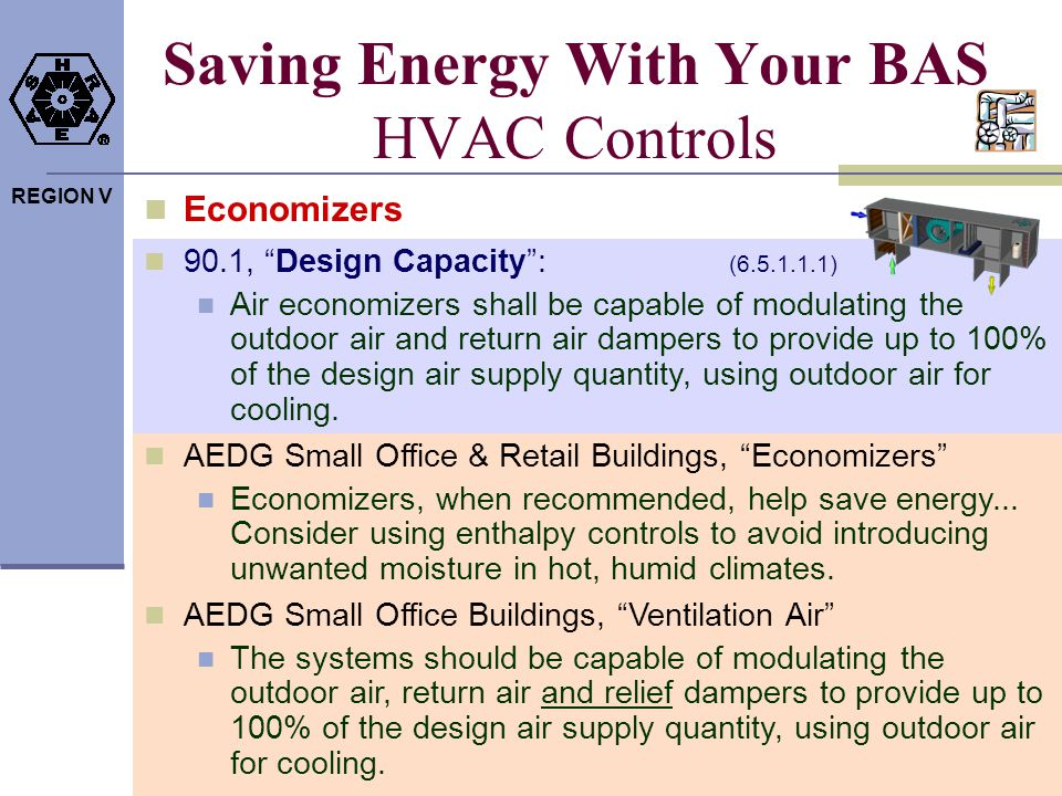 Saving Energy With Your BAS HVAC Controls