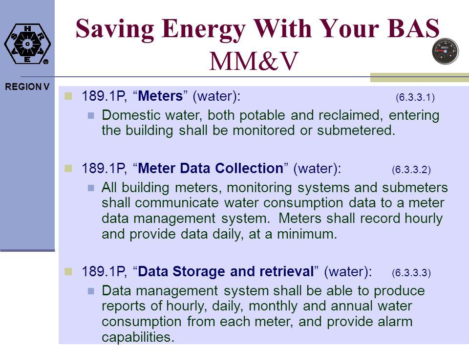 Saving Energy With Your BAS MM&V