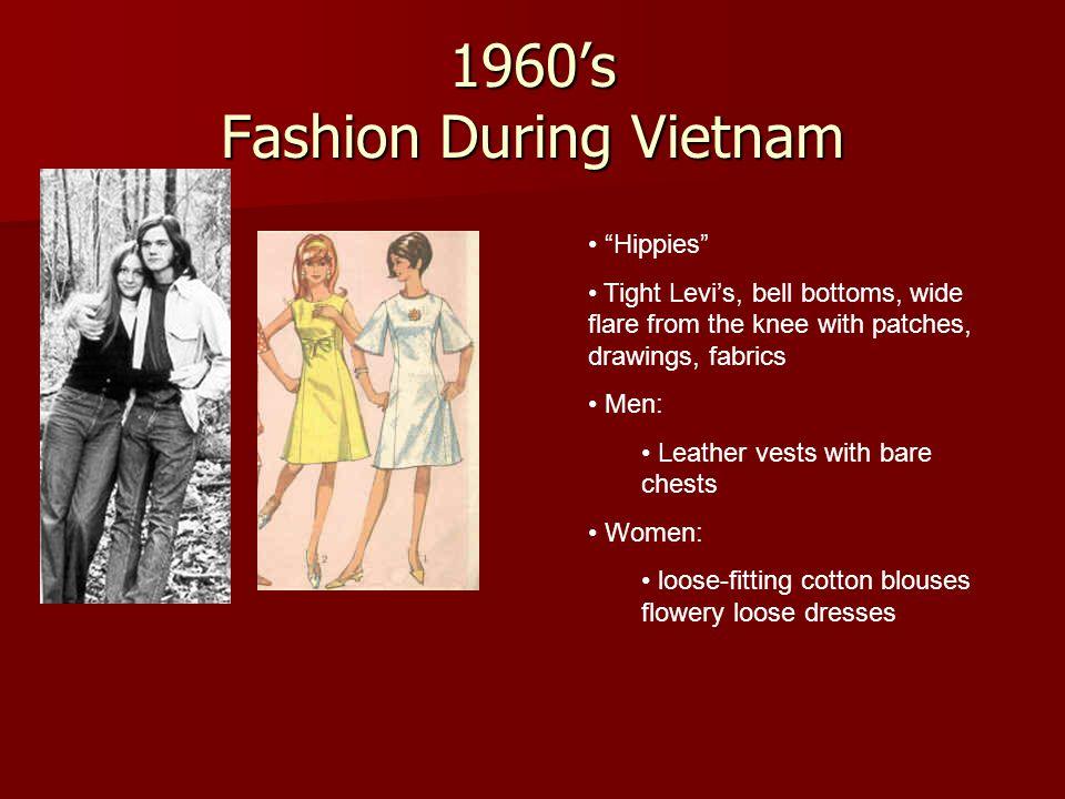 1960's Fashion During Vietnam