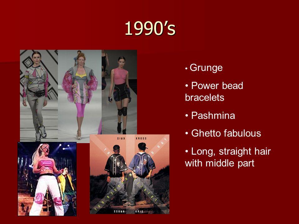 1990's Power bead bracelets Pashmina Ghetto fabulous