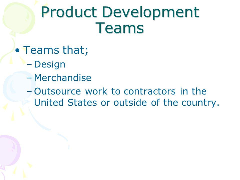 Product Development Teams