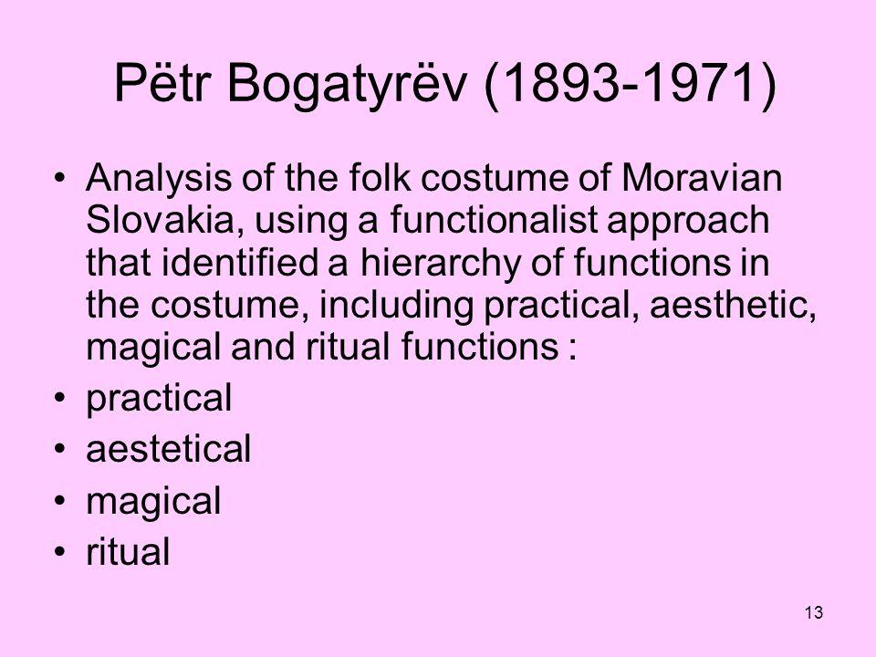 Pëtr Bogatyrëv (1893-1971)