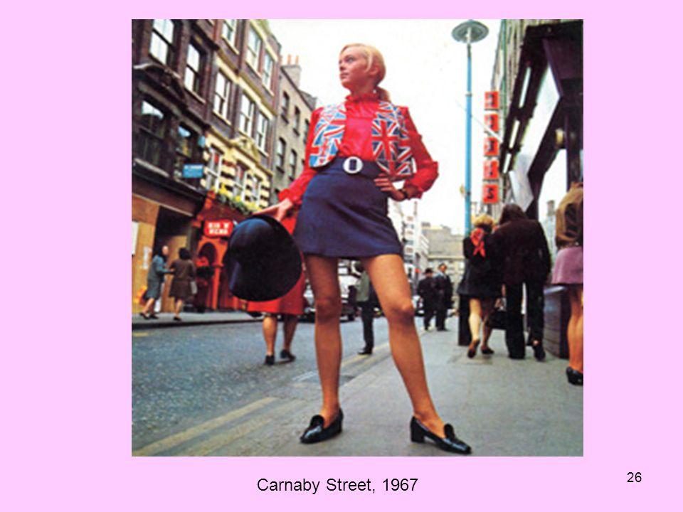 Carnaby Street, 1967