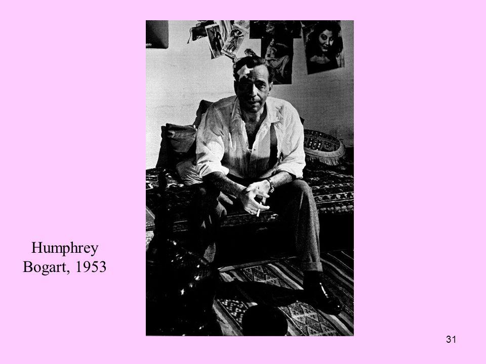 Humphrey Bogart, 1953