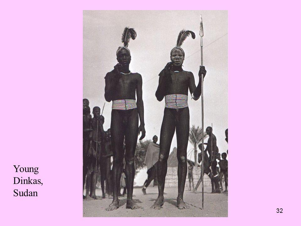 Young Dinkas, Sudan