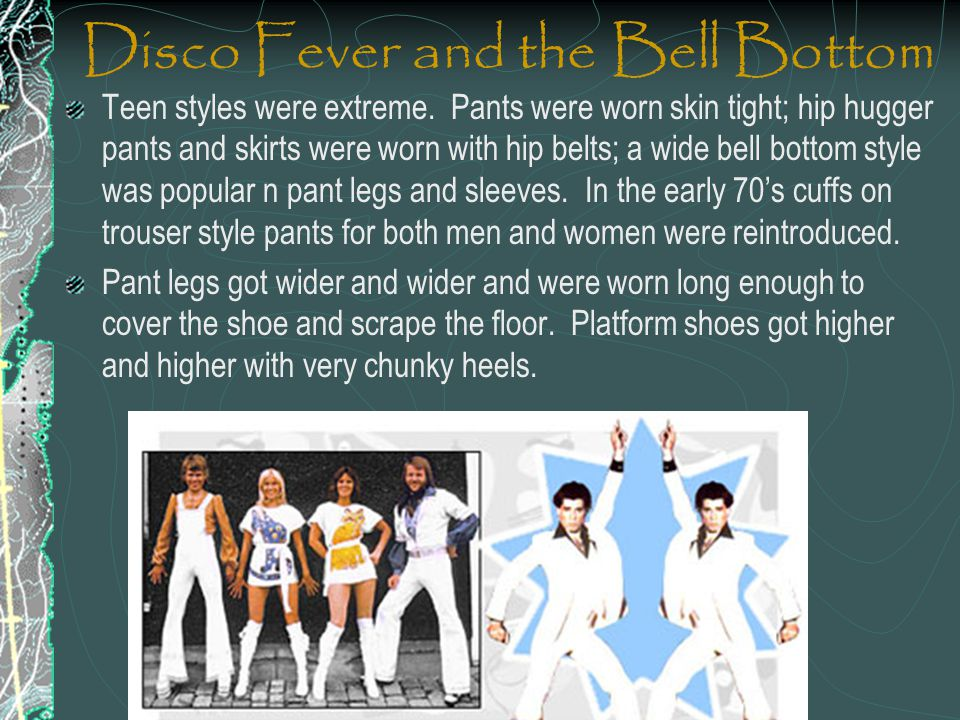 Disco Fever and the Bell Bottom