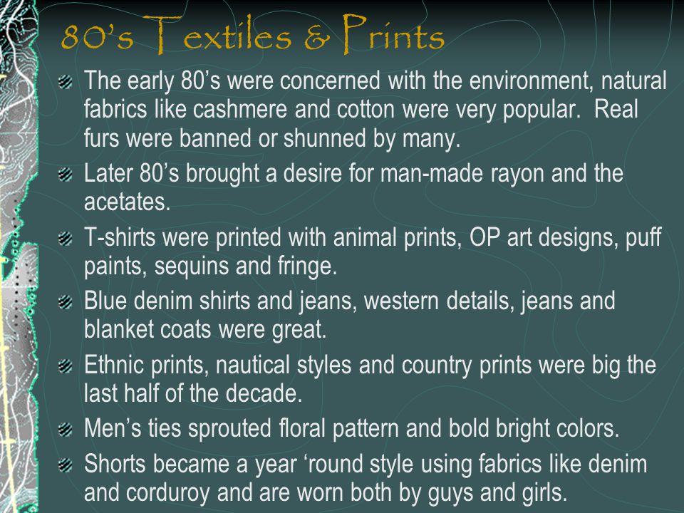 80's Textiles & Prints