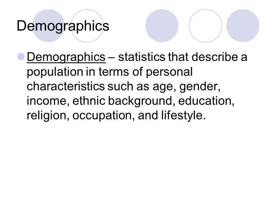 demographic factors such as age income Ramli saad et al/ elixir marketing mgmt 55 (2013) 13078-13084 13078 understanding demographic factors or profiles such as gender, age as well as income level is important being used to determine the relationship between demographic factors (age, gender, income level, occupation and.