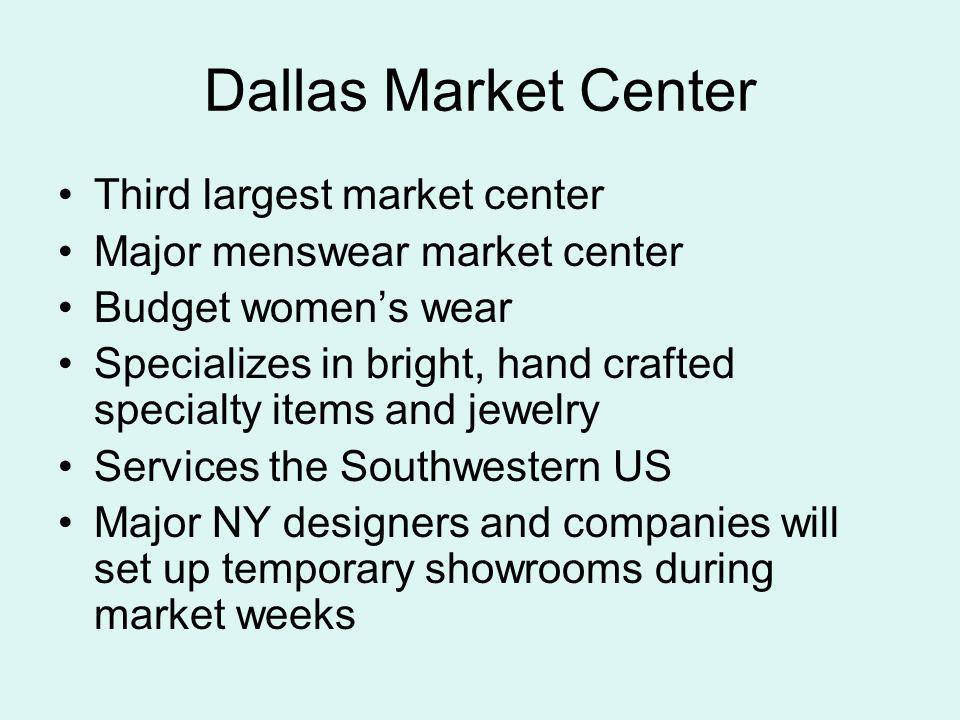 Dallas Market Center Third largest market center
