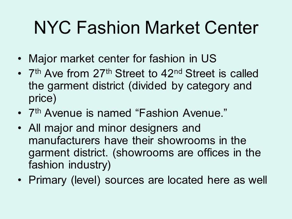 NYC Fashion Market Center