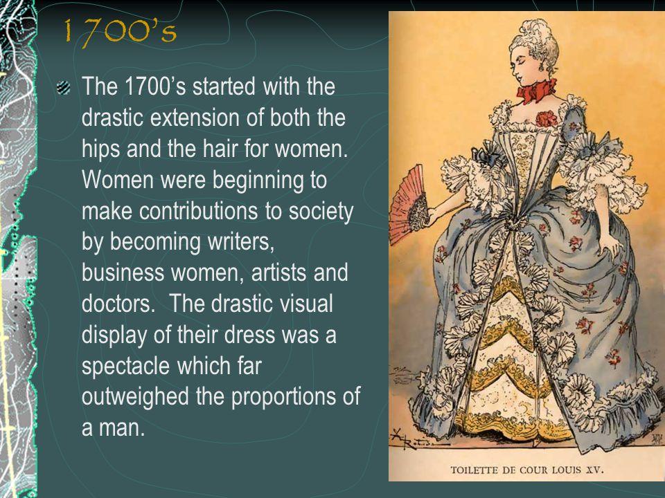 1700's
