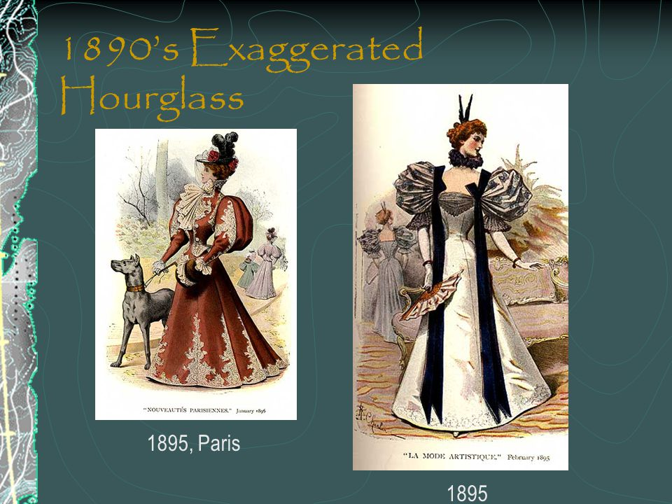 1890's Exaggerated Hourglass