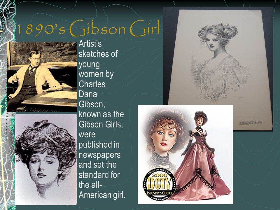 1890's Gibson Girl