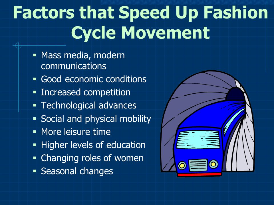Factors that Speed Up Fashion Cycle Movement