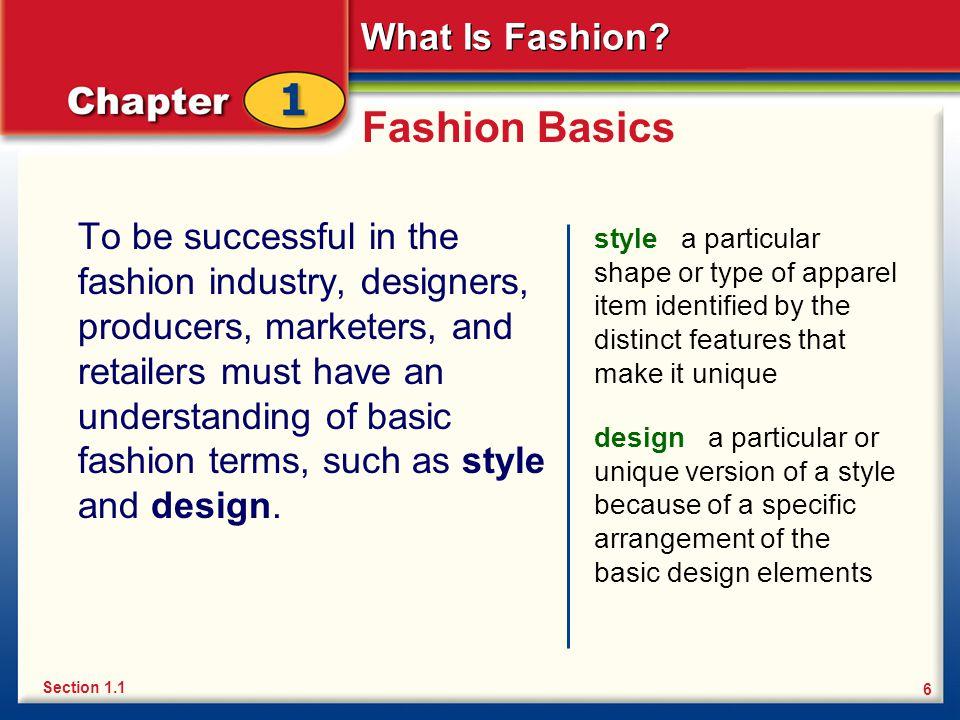 Fashion Basics
