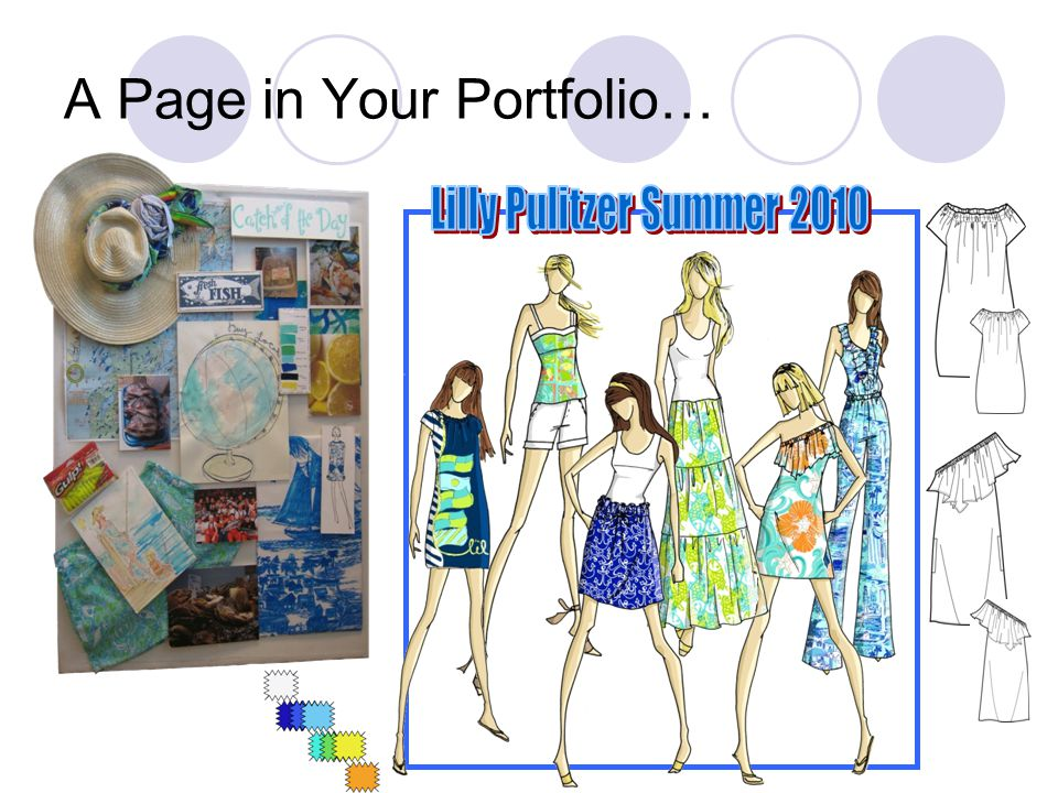 A Page in Your Portfolio…