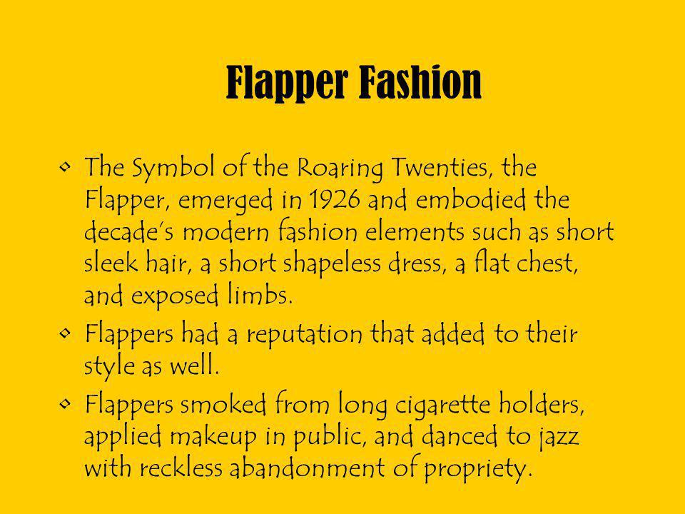 Flapper Fashion