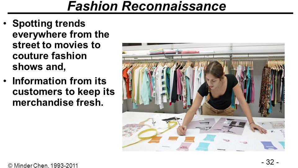 Fashion Reconnaissance