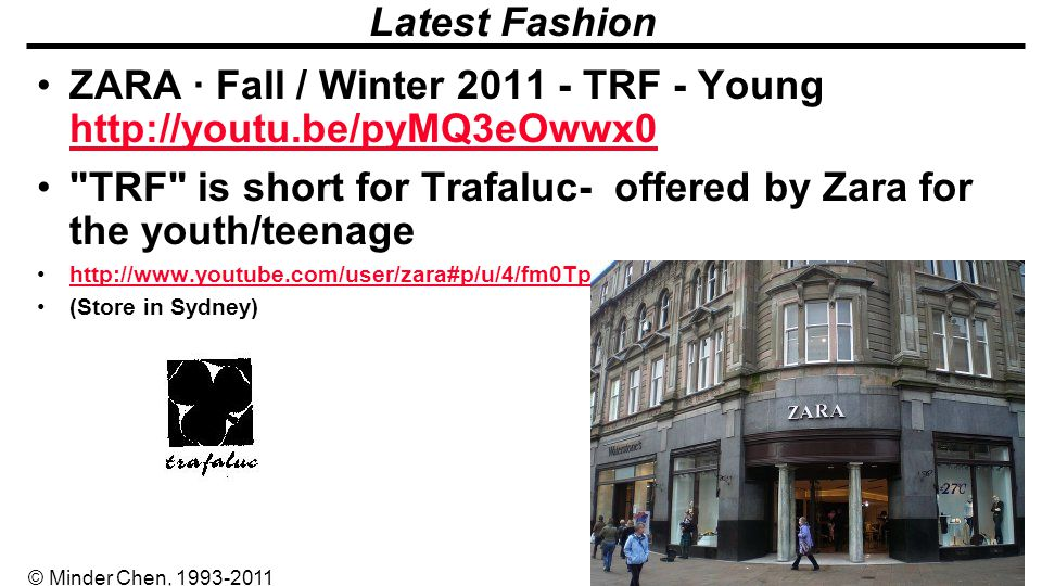 ZARA · Fall / Winter 2011 - TRF - Young http://youtu.be/pyMQ3eOwwx0