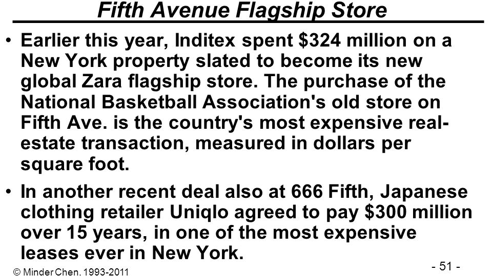 Fifth Avenue Flagship Store