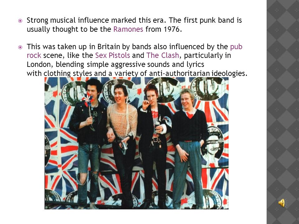 musical influence in britain during the British culture, customs and traditions - british pop music  british pop music  that music can be an instrument of social influence and change music is a .
