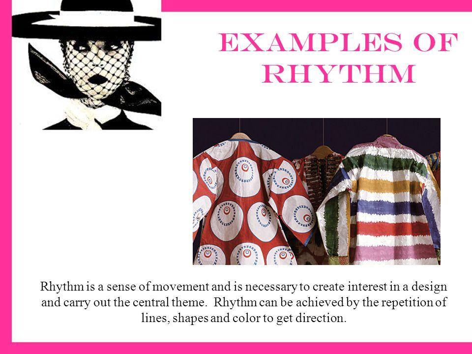 Examples of rhythm