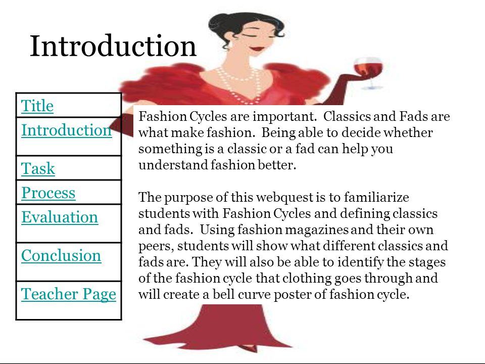 the importance of fashion Role of fashion in our society brief article regarding fashion role, novelty and conformity importance of role of fashion in our society read about fashion trends impact on society.