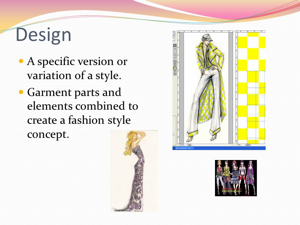 Design A specific version or variation of a style.