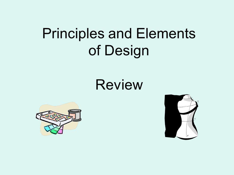 Principles and Elements of Design Review