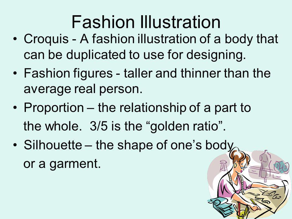 Fashion Illustration Croquis - A fashion illustration of a body that can be duplicated to use for designing.