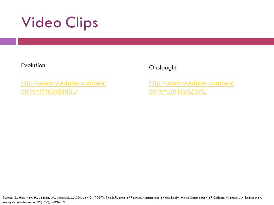 Video Clips Evolution Onslaught