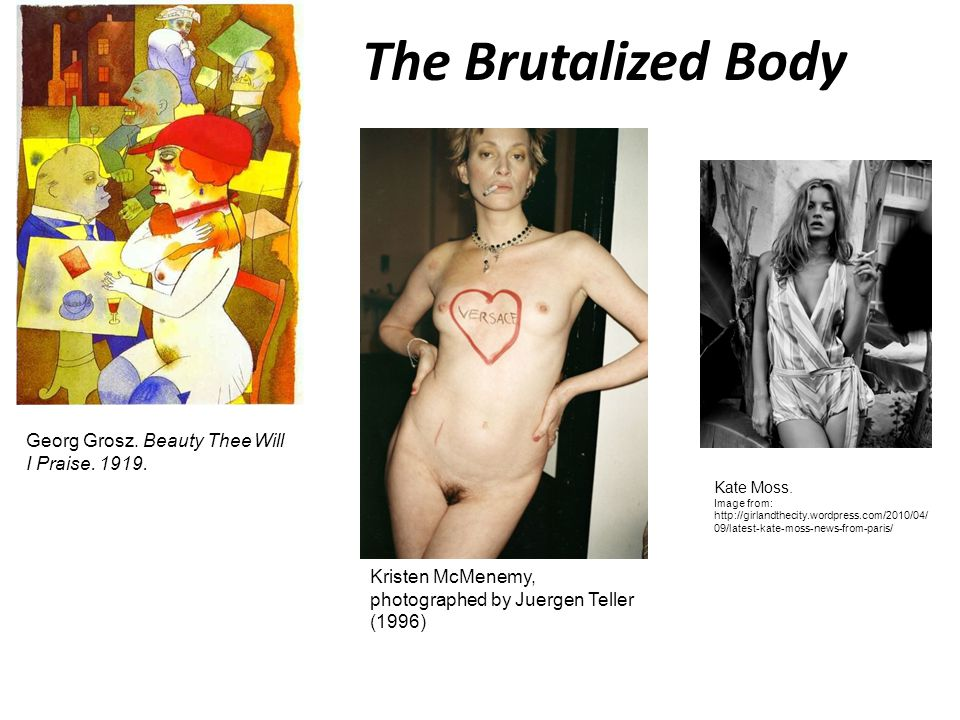 The Brutalized Body Georg Grosz. Beauty Thee Will I Praise. 1919.