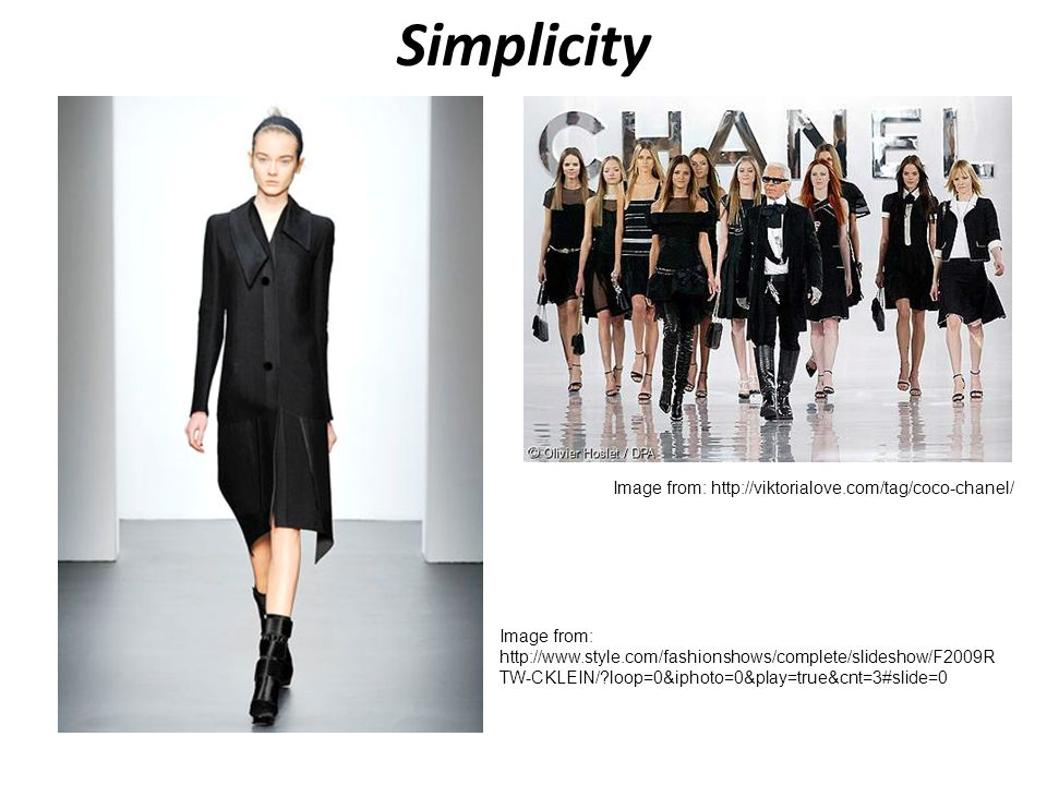Simplicity Image from: http://viktorialove.com/tag/coco-chanel/