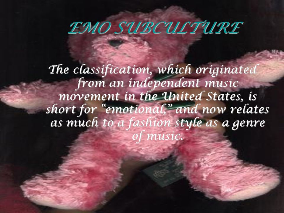 EMO SUBCULTURE