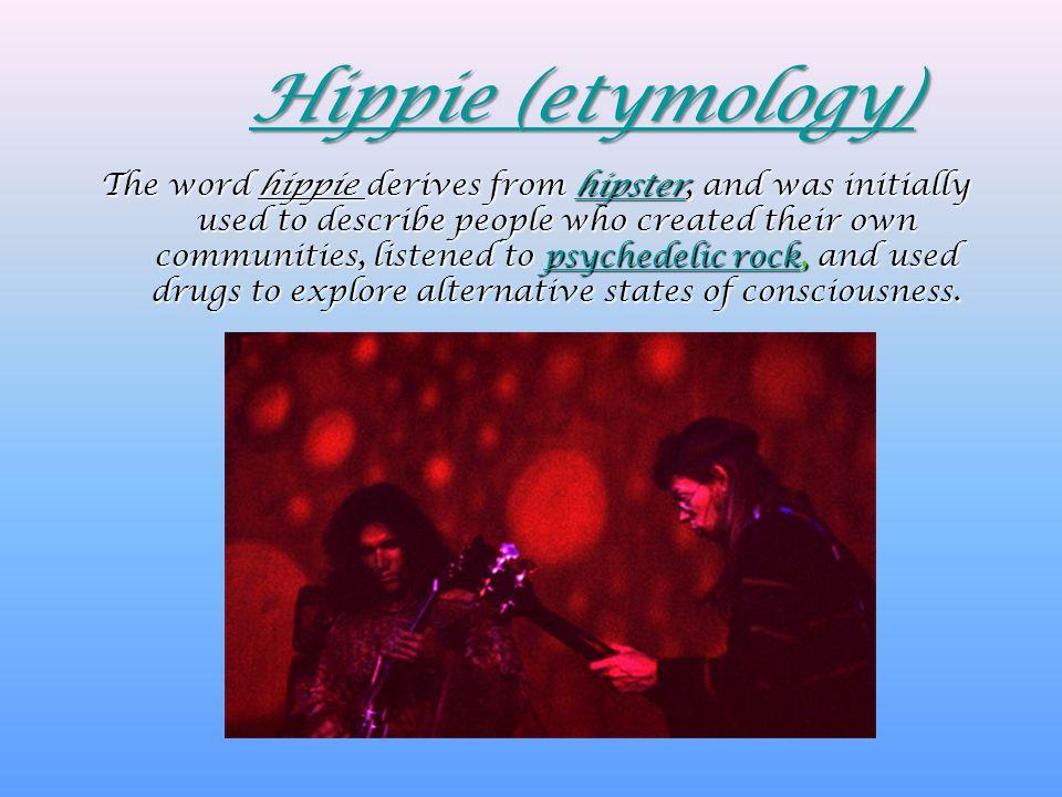 Hippie (etymology)