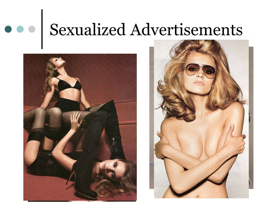 Sexualized Advertisements